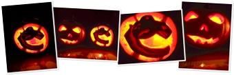 View Halloween 2009 pumpkins